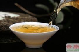 冲泡普洱茶的水温火候